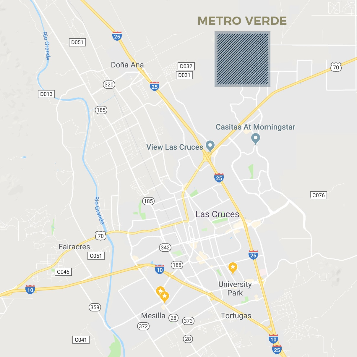 Metro Verde in Las Cruces