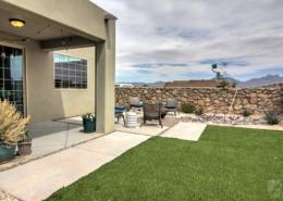 3680 Santa Cecilia - backyard - desert landscape