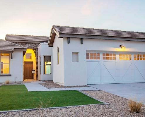 Arista, 3745 Golden Echo, front, house, garage, sky, grass, yard