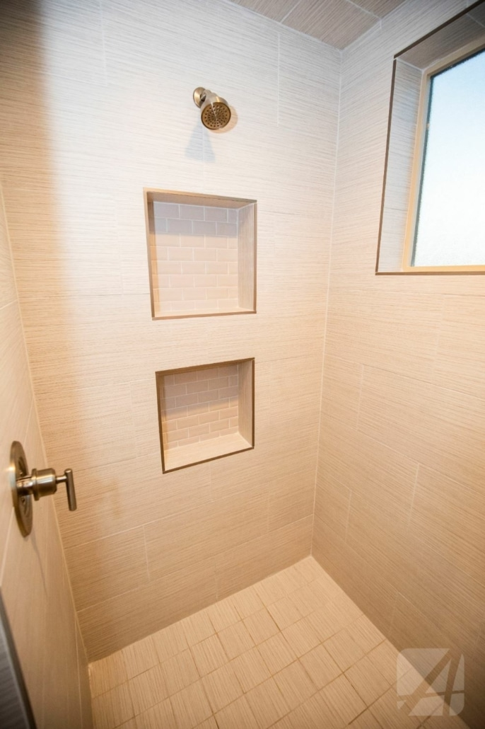 shower, arista development, luxury home