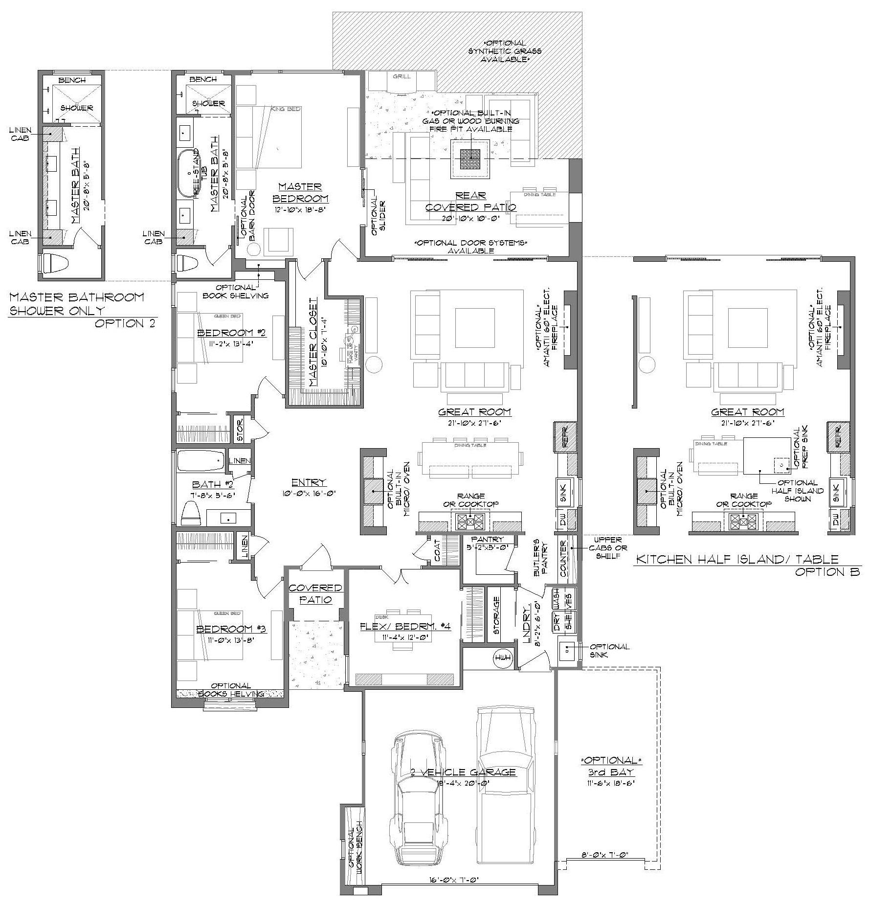 Floorplan, Blueprint, Brookstone, Arista, las cruces home builder