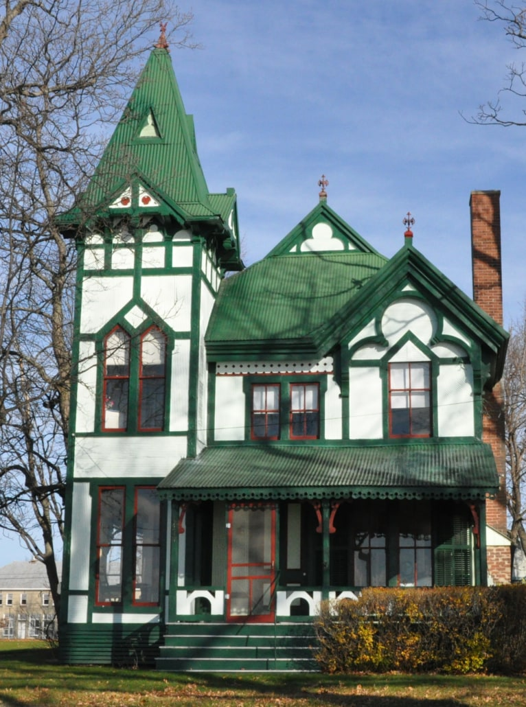 home styles, home, gothic revivial, gothic, sky, tree, yard, arista development, home builder