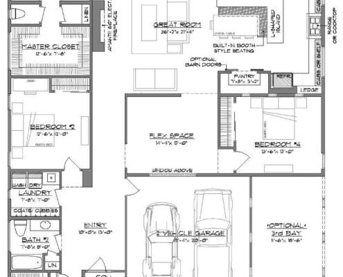 Floorplan, blueprint