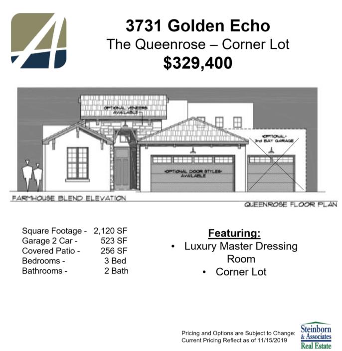3731 golden echo - elevation features-arista development