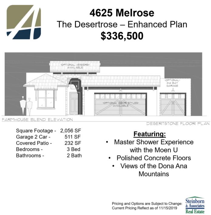 4625 Melrose - elevation features-arista development